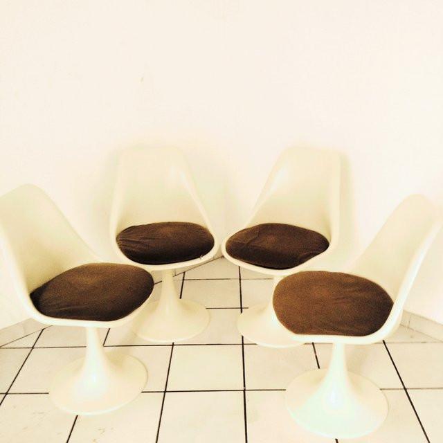 Best sedie tulip anni with sedie anni 70 for Sedia design anni 70