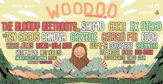 WOODOO FEST 2017   Dal 19 al 23 luglio la 4a edizione del Festival di Cassano Magnago (VA)