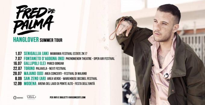FRED DE PALMA IN TOUR IN TUTTA ITALIA QUESTA ESTATE!!