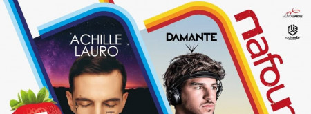 ACHILLE LAURO IN CONCERTO AFTERSHOW ANDREA DAMANTE DJ